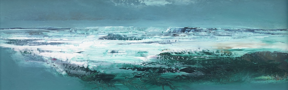 Atlantic Breakers | 10 x 28 ins | 38 x 61 cms | €1700