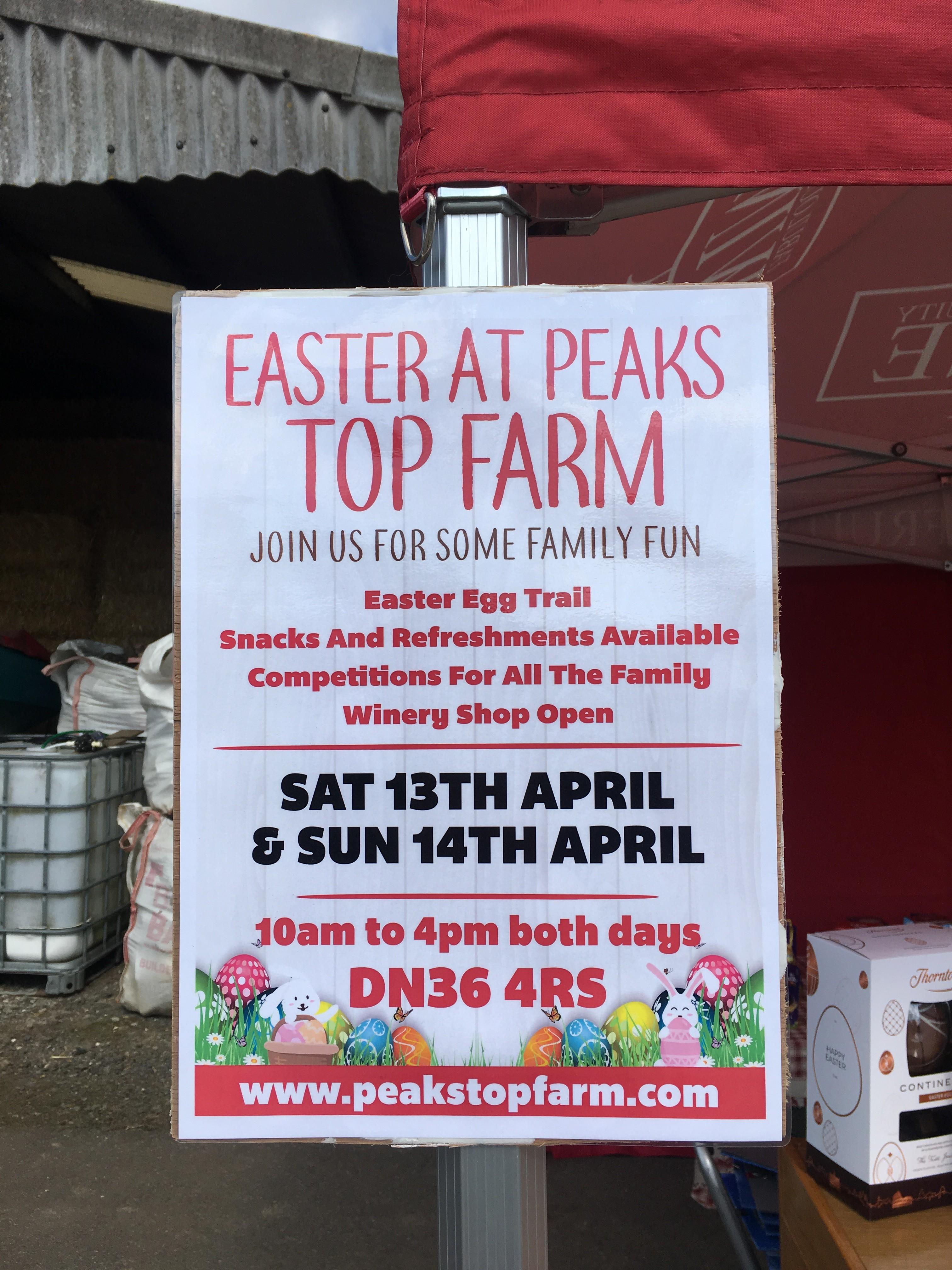Easter Fun at Peaks Top Farm!