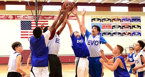 team evolution spring basketball league