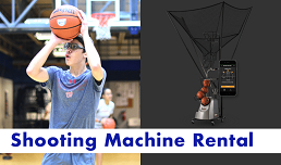 shooting machine rental