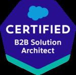 Salesforce B2B Solution Architect Badge