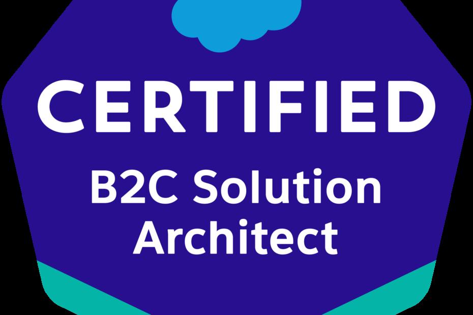 Salesforce B2C Solution Architect Badge