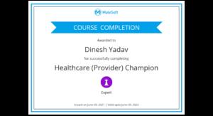 Healthcare Champion