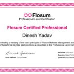 Flosum Certificate