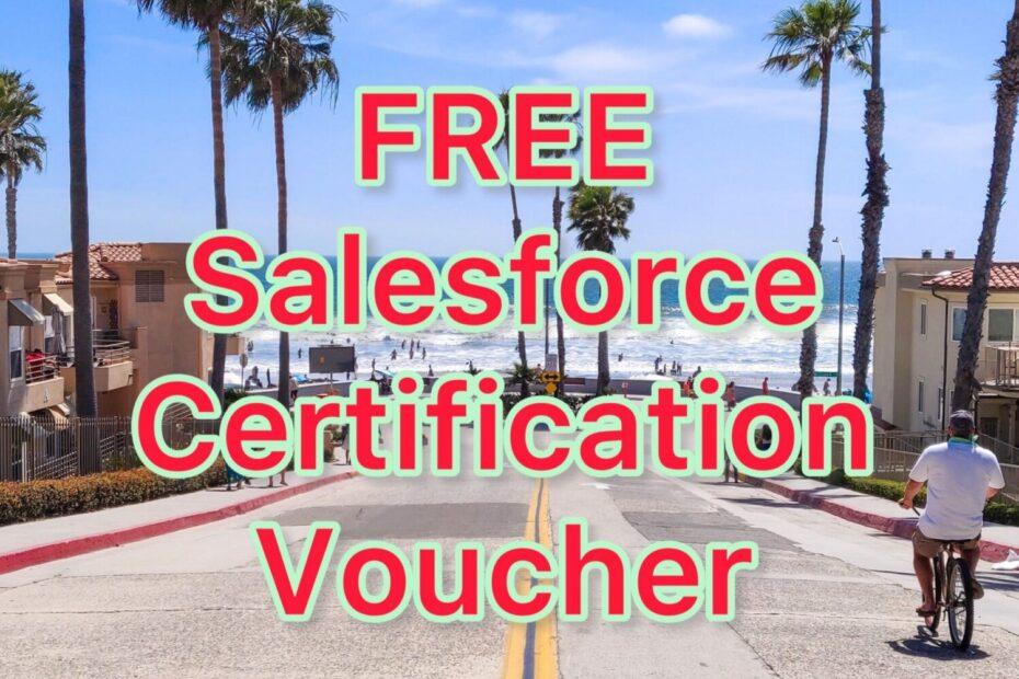Free Salesforce Certification Voucher