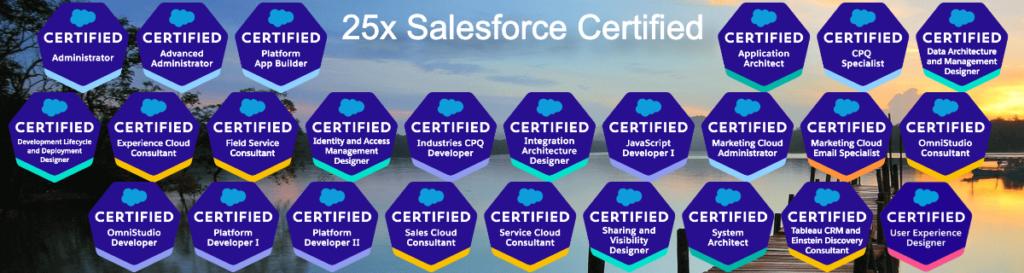 Salesforce Certificate Logo