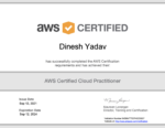 AWS Certified Cloud Practitioner Certificate