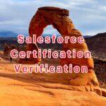 Salesforce Certification Verification