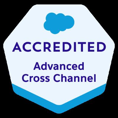 Advanced Cross Channel Badge