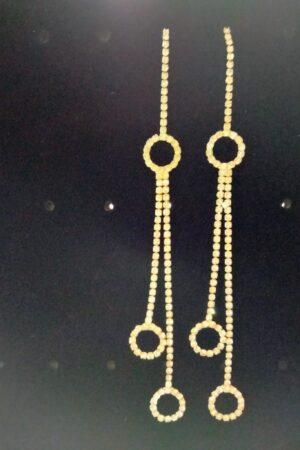 Earrings Round Tassel
