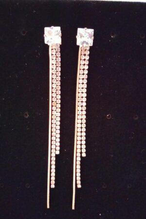 Earring Square Tassel