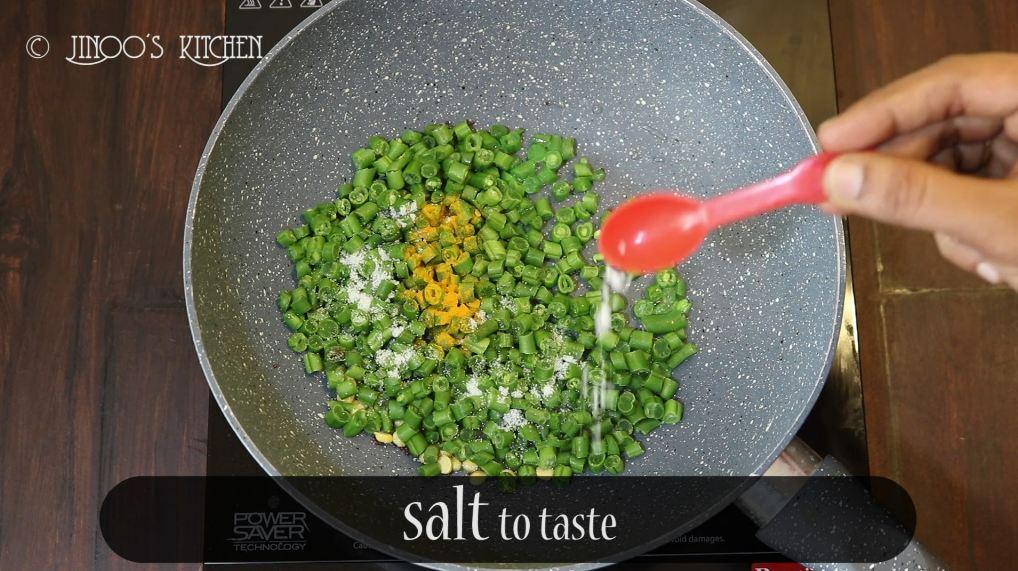 Beans Usili Recipe