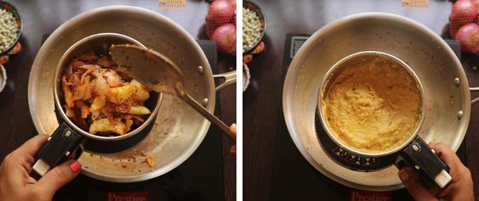 grind it - peas potato masala
