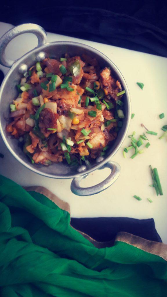 Kothu roti/chapati