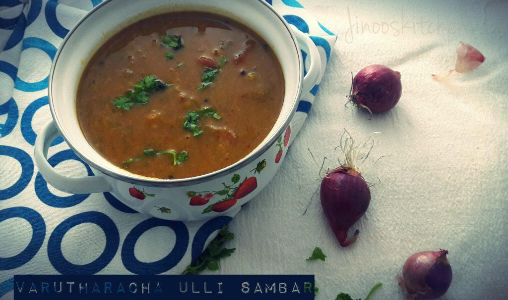 Varutharacha Ulli sambar