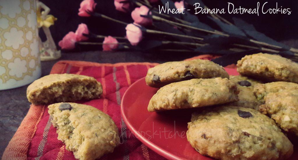 Banana Oatmeal cookies