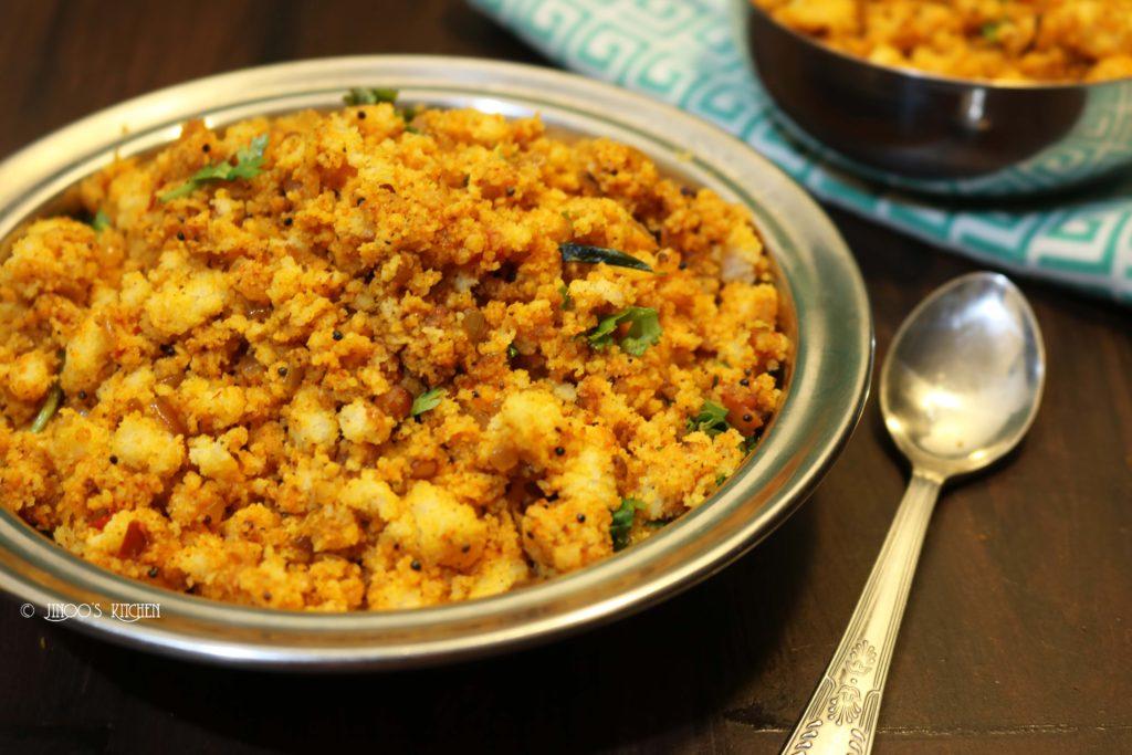 Spicy Idli upma recipe