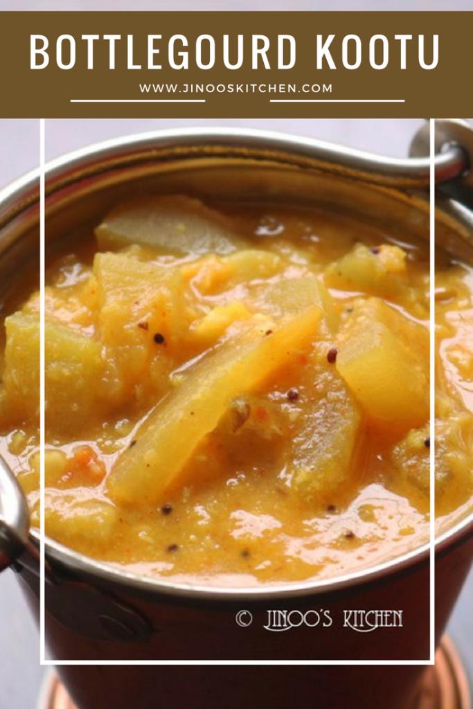 Sorakkai Kootu | Bottlegourd kootu recipe