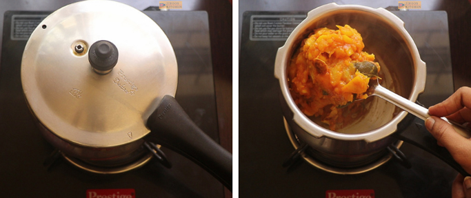 pressure cook chakka mulakushyam recipe