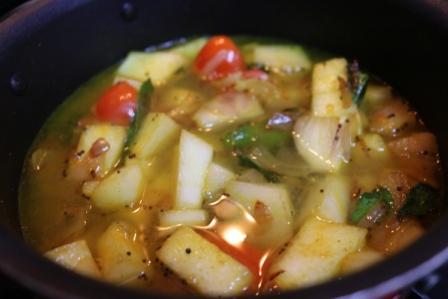 pumpkin sambar recipe 7