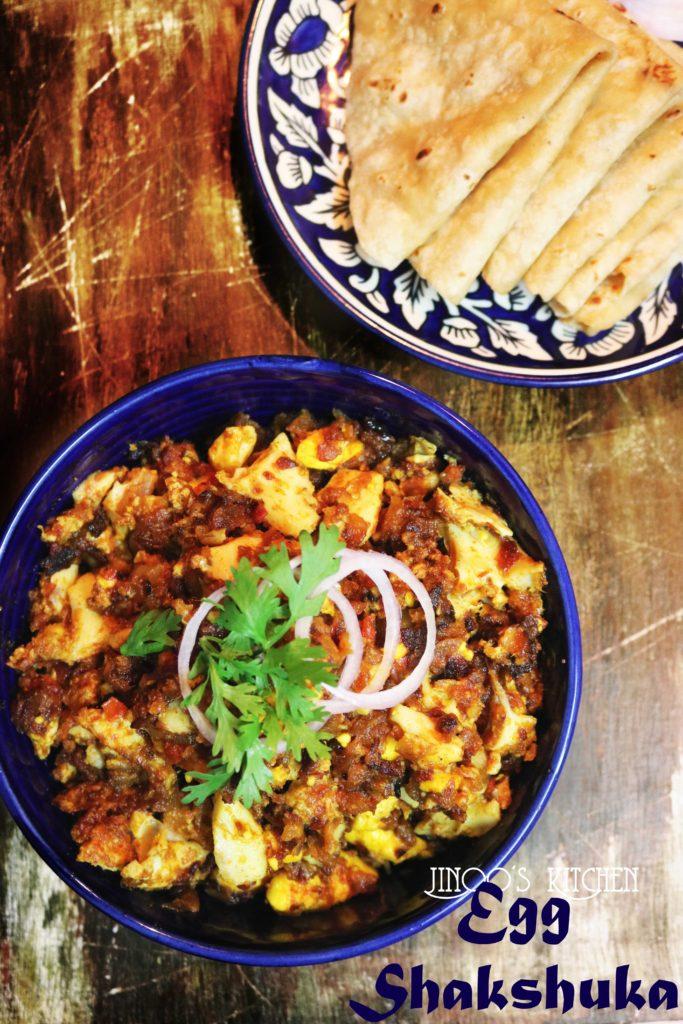 Egg Shakshuka Indian style