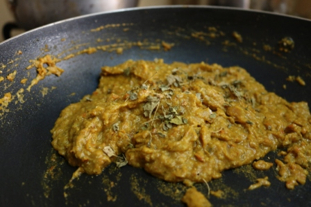 Brocolli curry
