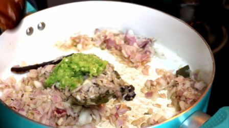 Soya Chunks Biryani-Meal Maker Biryani recipe 3