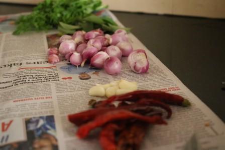 Onion coriander chutney recipe