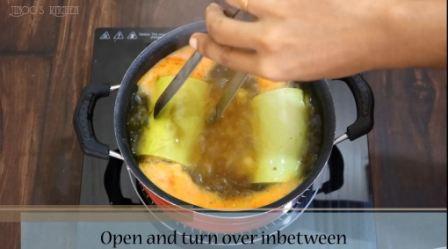 Stuffed Bottle gourd curry