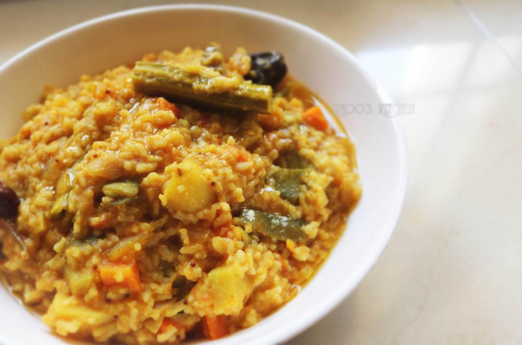 Sambar Sadam recipe | hotel style sambar sadham