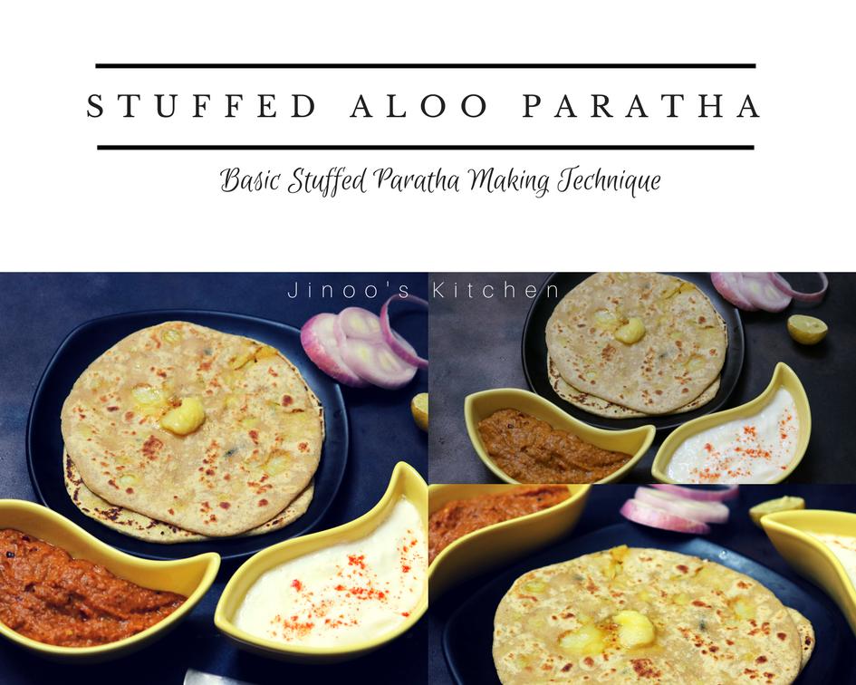 Stuffed Aloo Paratha