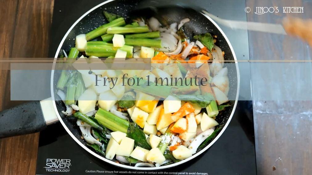 Drumstick Potato Stir fry recipe