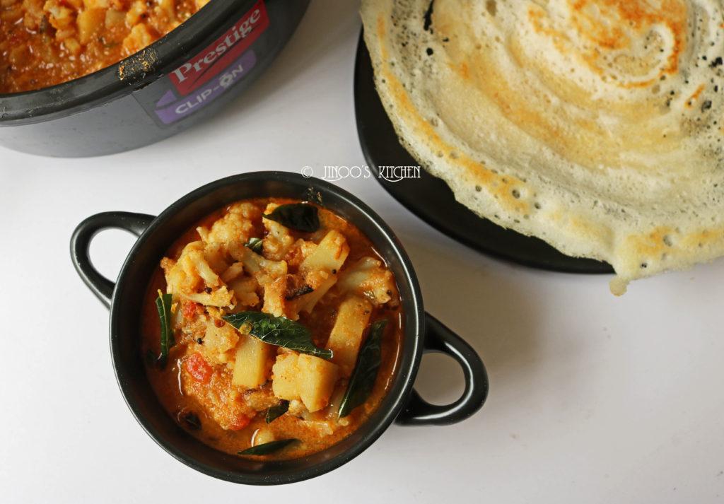 Cauliflower curry recipe