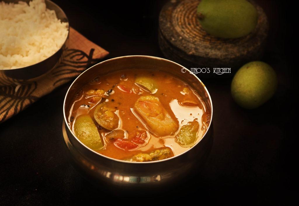 how to prepare sambar