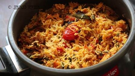 Tomato chicken biryani recipe