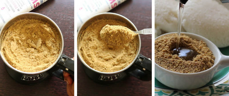 Flax seed chutney powder