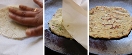 Bajra roti recipe