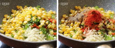 sweet corn pulao recipe