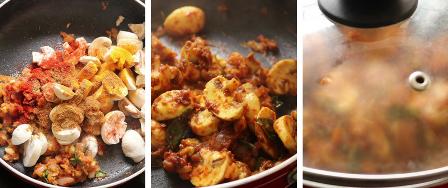 chilli Garlic Mushroom recipe