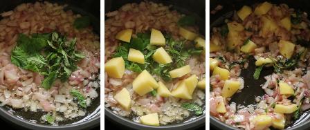 Peas potato masala