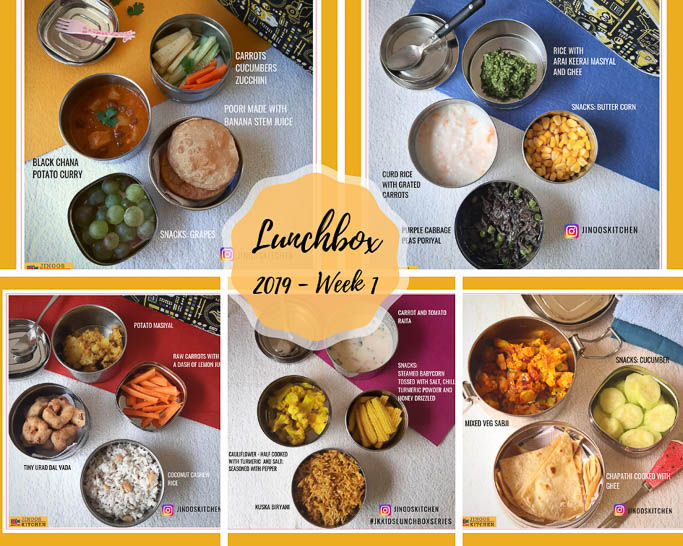 Indian Lunchbox recipes