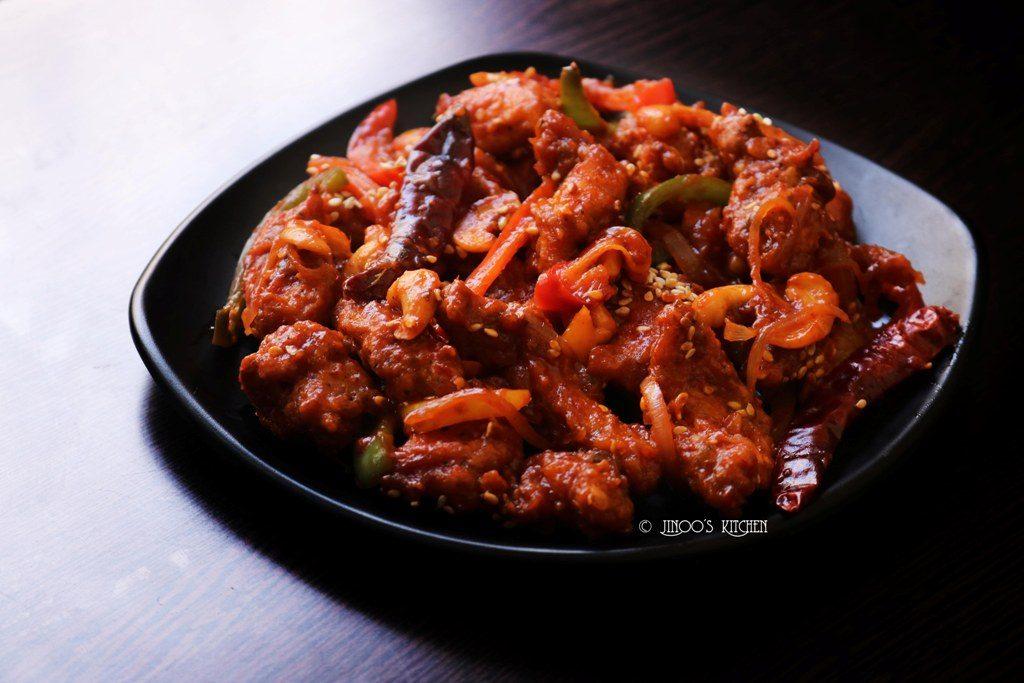Dragon chicken recipe | Restaurant style dragon chicken