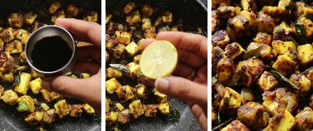 Paneer pepper fry recipe