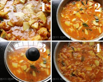 Kerala potato curry for chapathi