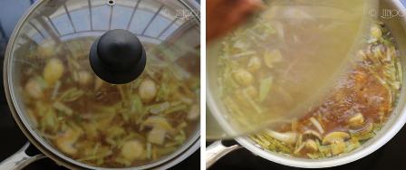 Veg clear soup recipe