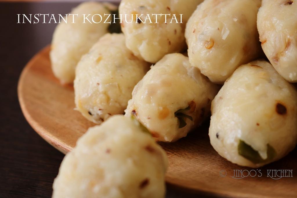 kara kozhukattai with rice flour