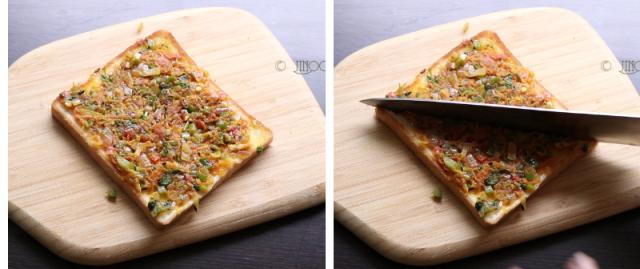 Masala toast recipe Iyengar bakery style