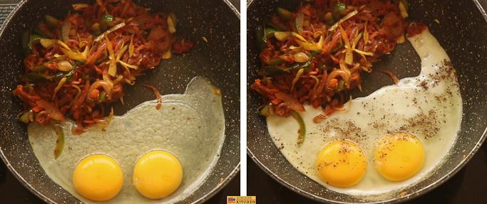 Bread Egg masala recipe