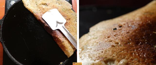 Instant wheat flour dosa recipe Wheat rava dosa recipe