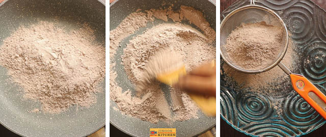 Ragi butter murukku recipe finger millet murukku